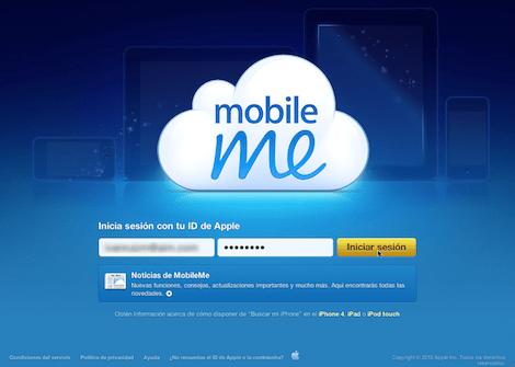 mobileme Cómo activar Busca mi iPhone en iOS 4.2