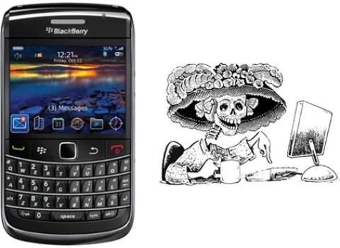 muero por un celular gratis Doodle día de muertos
