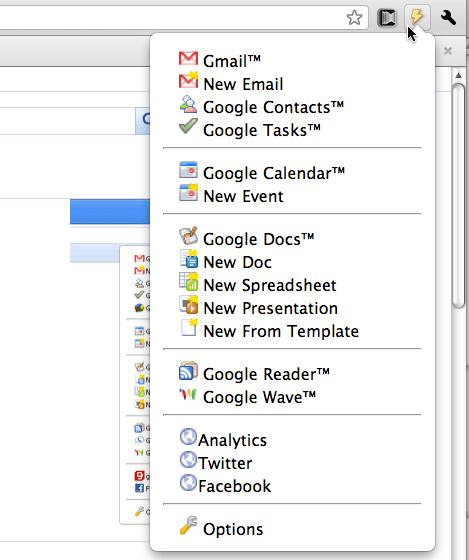 Accede a tus servicios de Google de manera sencilla en Chrome - 2010-12-06_23-49-091