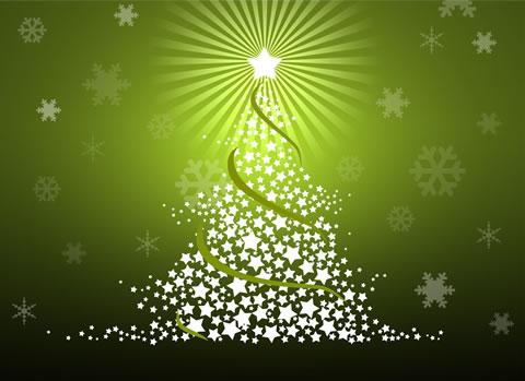 fondos navidad christmas green Wallpapers de navidad 2010