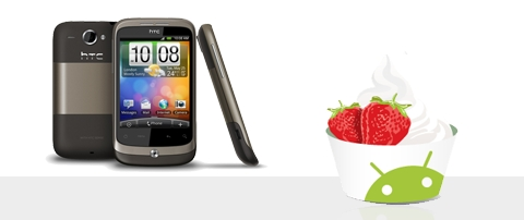 HTC Wildfire y HTC Magic se actualizan a Android Froyo - htc-wildfire-froyo