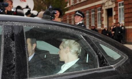 Detención de Julian Assange, fundador de WikiLeaks - julian-assange-arresto