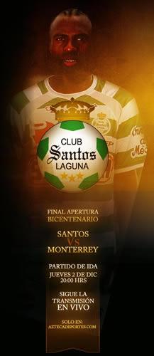 Santos vs Monterrey en vivo, Final Apertura 2010 - monterrey-vs-santos-en-vivo