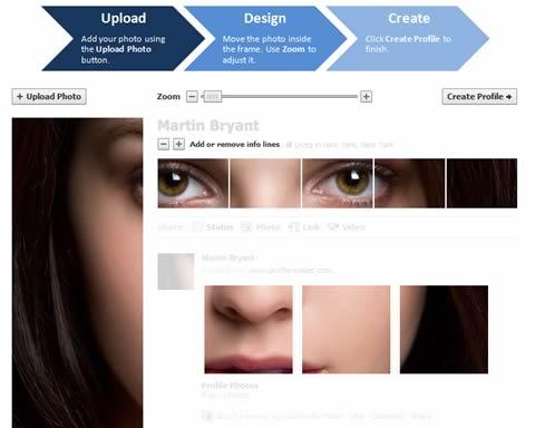 Personaliza tu nuevo perfil de Facebook con Profile Maker - profile-maker-facebook