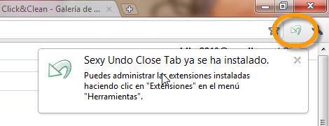 sexy undo close tab Como abrir pestañas que se cerraron accidentalmente en Chrome