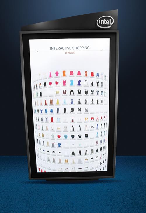 Intel Interactive Fashion Experience Intel presenta la tienda del futuro