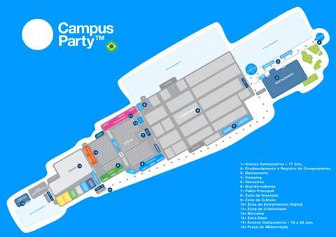 Comienza Campus Party Brasil 2011 - cpbrasil-2011-mapa