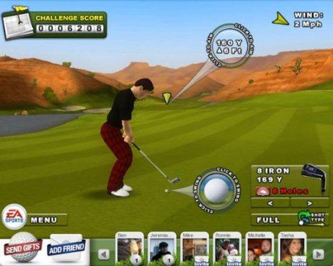 EA Sports ahora lanza juegos para Facebook - ea-sports-golf-facebook