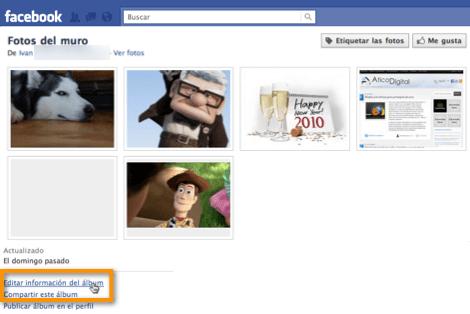 Como eliminar albums completos en Facebook - eliminar-albums-de-facebook