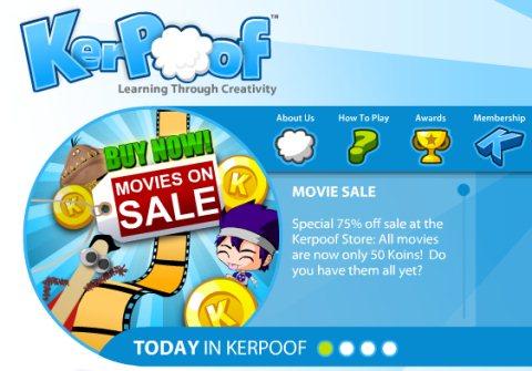 Crear animaciones y comics con Kerpoof - kerpoof-animaciones