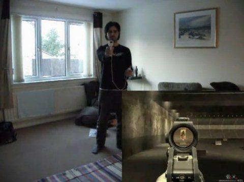 kinect hackeado wiimote modern warfare Hack de Kinect junto a Wiimote son la experiencia perfecta