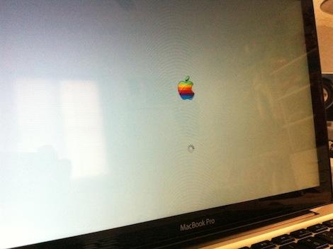 Cambia el logotipo de arranque de Mac OS X - la-foto