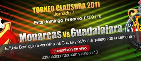 Morelia vs Chivas en vivo, Clausura 2011 - morelia-chivas-en-vivo-clausura-2011