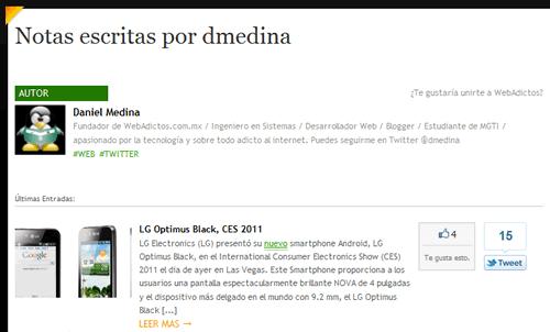 Rediseño de WebAdictos - pagina-autor
