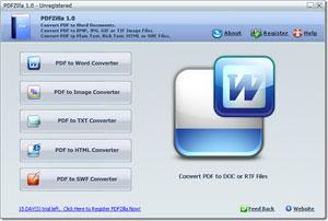 PDF a word con PDFZilla gratis por tiempo limitado - pdf-a-word