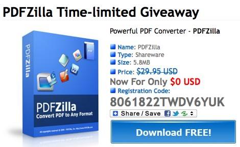 PDF a word con PDFZilla gratis por tiempo limitado - pdfzilla-gratis