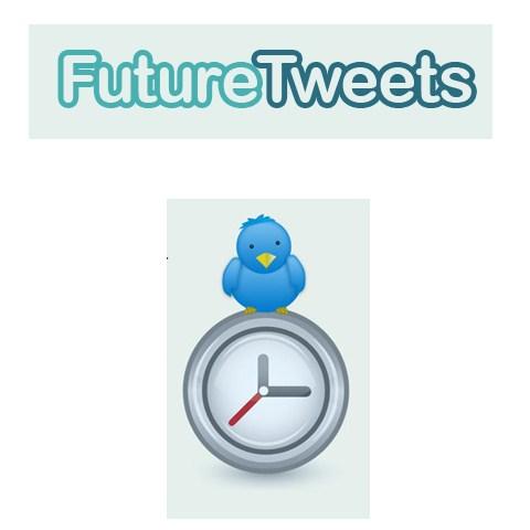 FutureTweets, programar tweets para enviarse en el futuro - programar-tweets