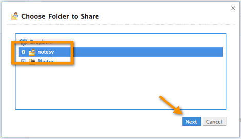 seleccionar carpeta dropbox Como compartir una carpeta en Dropbox