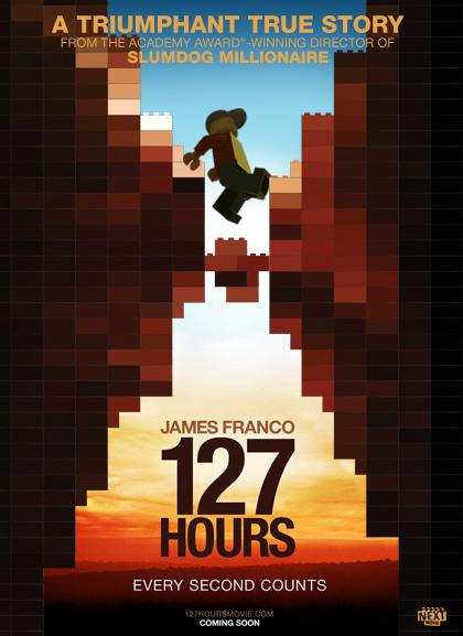 127 Hours 2 Las nominadas al Oscar versión Lego