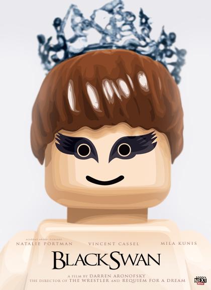 Las nominadas al Oscar versión Lego - Black-Swan