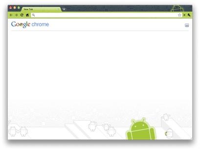 Nuevos temas para Google Chrome - Robot-theme