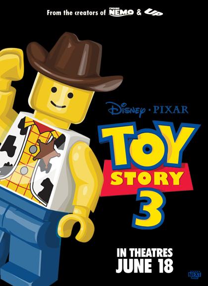 Toy Story 3 Las nominadas al Oscar versión Lego