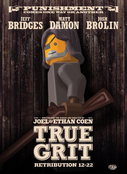 True Grit Las nominadas al Oscar versión Lego