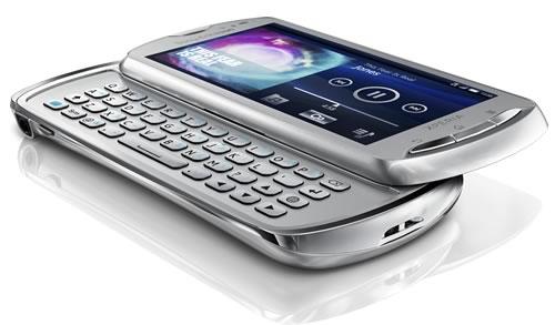 Xperia pro Silver Sony Ericsson Xperia Pro