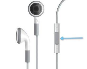 Como utilizar el control de voz en el iPhone/iPod Touch - auriculares-apple-control