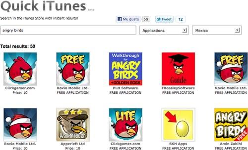 Buscar en iTunes desde el navegador con Quick iTunes - buscar-itunes-quick-itunes