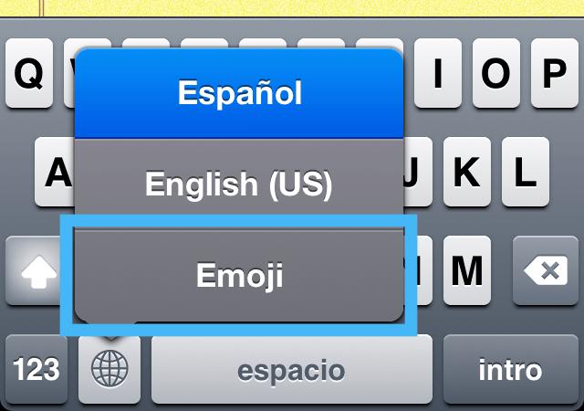 cambiar teclado emoji Cómo agregar emoticonos a tus mensajes de tu iPhone o iPad