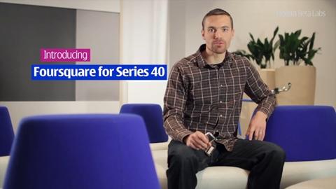 Foursquare para Nokia Series 40 - foursquare-nokia-series-40