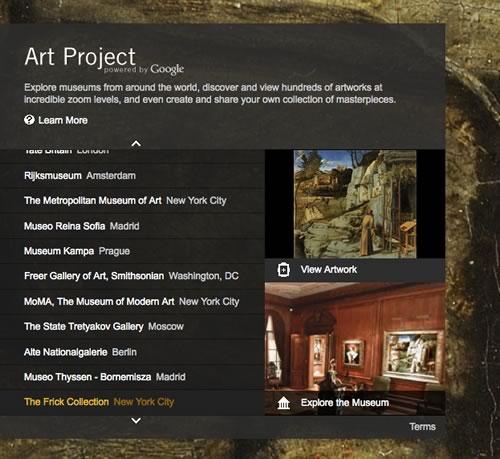 google art project Google Art Project, visitas virtuales a museos del mundo