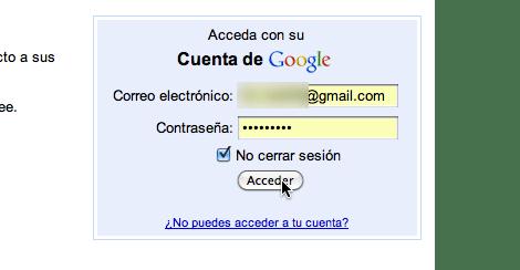 Convierte las nuevas pestañas de Chrome en una lista de tareas - ingresar-cuenta-de-google