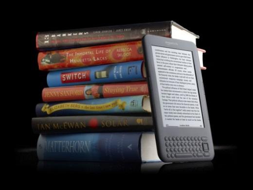 Amazon ya vende mas libros electrónicos que libros en papel - kindle-libros