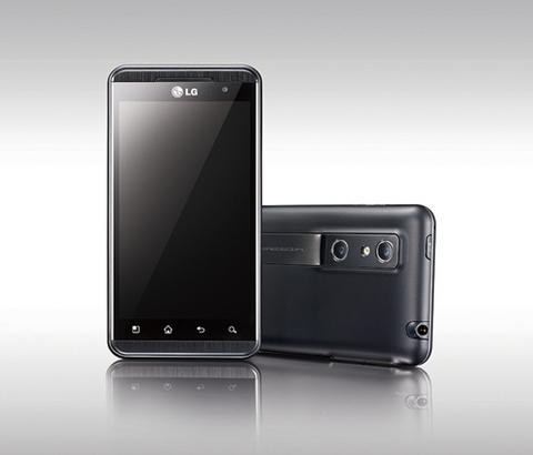lg optimus 3d range LG Optimus 3D permitirá grabar contenido en 3D