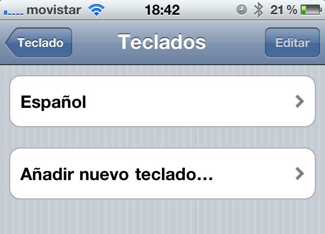 nuevo teclado iphone Cómo agregar otro teclado de diferente idioma en tu iPhone o iPad