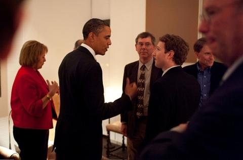 Obama se reune con líderes tecnológicos - obama-mark-zuckerberg-tecnologia