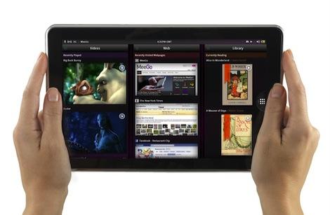 MeeGo no esta muerto, aparece en una tablet en el MWC 2011 - redvalemeego2