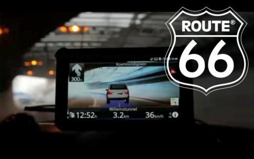 Route 66 une la navegación GPS con la realidad aumentada - ruta-66-android