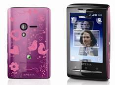 sony xperia mini Sony Xperia X10 mini y mini pro edición San Valentín