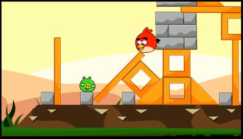 sshot4d590eb3caa94 Amistad entre un cerdo y un Angry Bird? [Video]