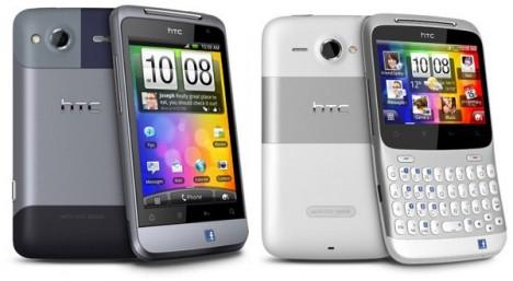 HTC Salsa y HTC ChaCha, smartphones con botones dedicados a Facebook - telefonos-facebook