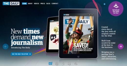 The Daily el primer diario exclusivo para iPad - the-daily-exclusivo-ipad
