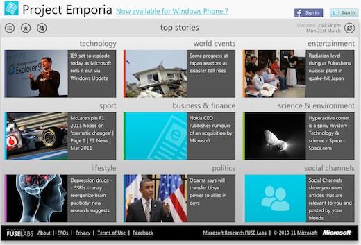 Microsoft lanza Emporia, un nuevo sistema de recomendación de Noticias - Proyecto-Emporia