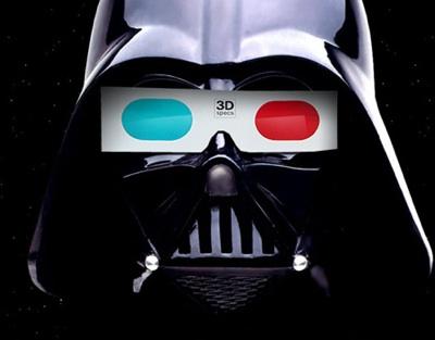 Star Wars 3d Star Wars en 3D llegará a la pantalla grande en el 2012