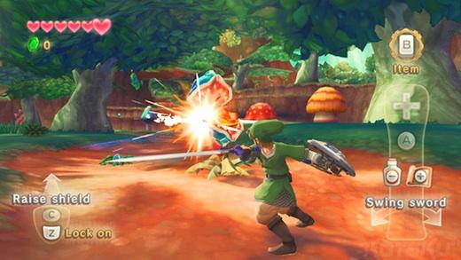 Zelda Skyward Sword Nuevo Trailer de Zelda Skyward Sword