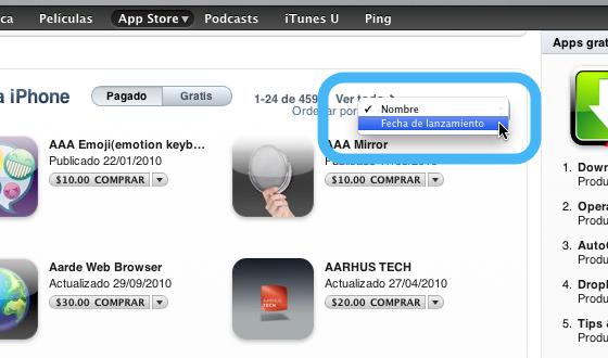 buscar aplicaciones nuevas 2 Cómo encontrar las Apps más nuevas dentro de la App Store