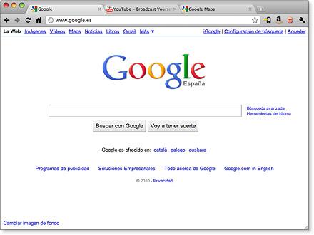 Como activar la aceleración por hardware de Google Chrome - dlpage_mac