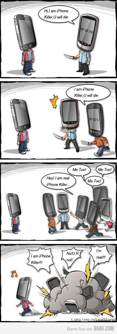 "Quién es el ""iPhone Killer""? [humor] - iphone-killer"